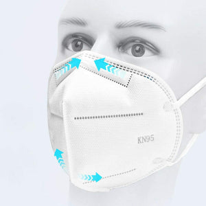 FREE SHIP 6 Disposable Masks + 1 KN95 Mask + 3 Bandanas