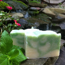 Load image into Gallery viewer, 100% Natural Organic Handmade Soap Freshmint