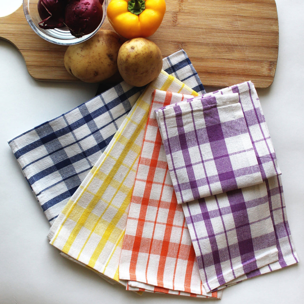 Tea Towels, Pack of 4