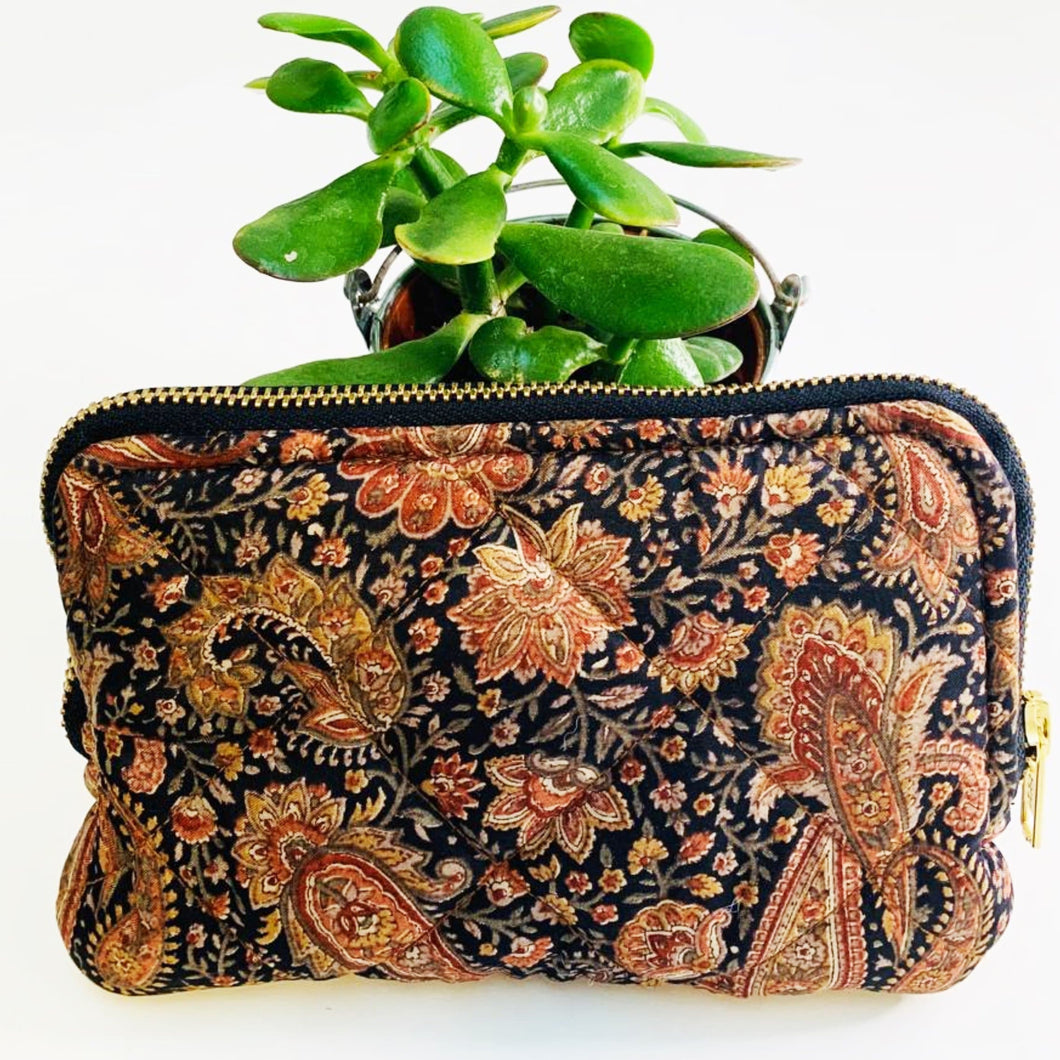 Eco friendly travel cosmetic or makeup bag (One-Off Print)