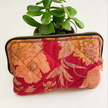 Load image into Gallery viewer, Eco friendly travel cosmetic or makeup bag (One-Off Print)