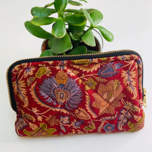 Premium Recycled Silk Wallet (One-Off Print)