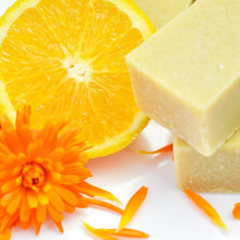 Load image into Gallery viewer, 100% Natural Organic Handmade Soap Orange Peel Scrub