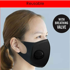 Best Seller Reusable Mask with Valve