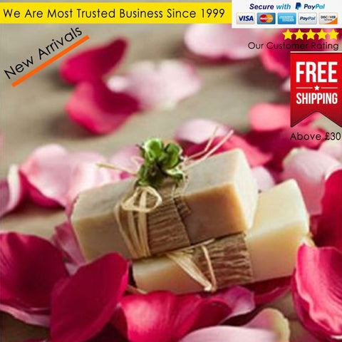 100% Natural Organic Handmade Soap Rose And Almond