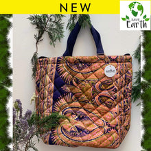 Load image into Gallery viewer, Recycled Silk Tote Bag (One-Off Print)