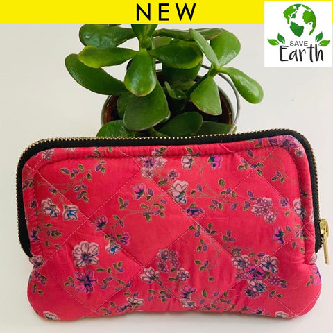 Recycled Silk Wallet (One-Off Print)