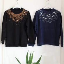 Load image into Gallery viewer, 2 Sequin Sweatshirts