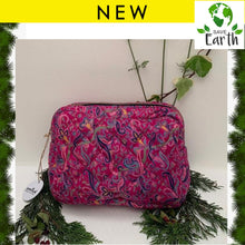 Load image into Gallery viewer, Premium Recycled Silk Washbag (One-Off Print)