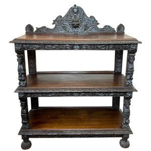 Antique furniture, bookcases, cabinets, dressers & credenza sideboards