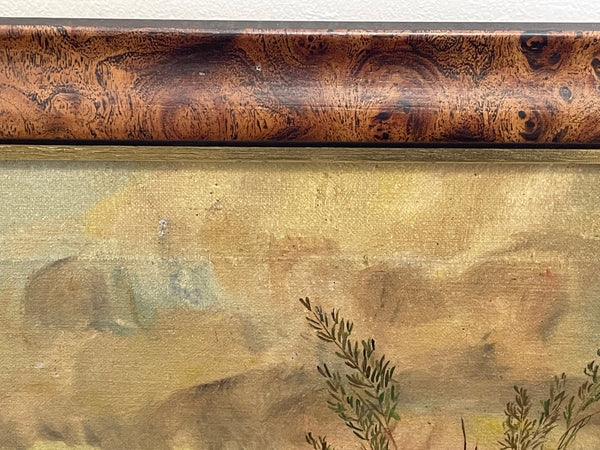 Small Fine Vintage Dragons Porcelain Late Qing Style Chinese Ripple Display Bowl