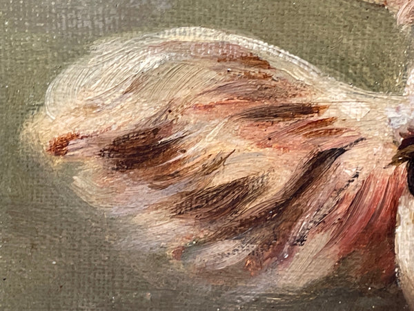Fine Hand Painted Stone Jack Russell Dog Animal Garden Porch Statue