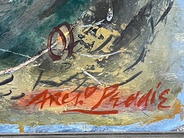Original Scottish Mother & Baby Child Bust Terracotta Sculpture After Archibald Knox