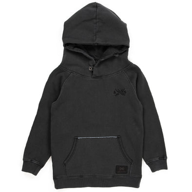Heritage Hood BLACK - KIDS