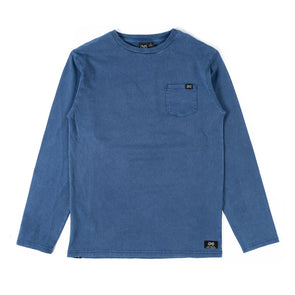 Go to Pocket LS Tee INDIGO - TEEN