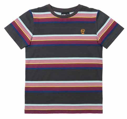 Rad Stripe Tee - Alphabet Soup