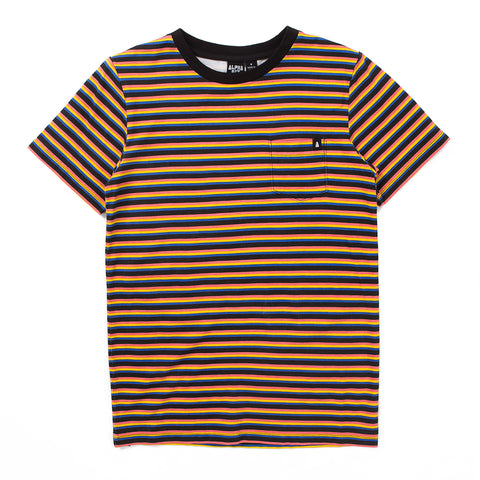 Stripe Tee - Alphabet Soup