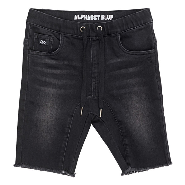 Black Out Jogg Jean Short