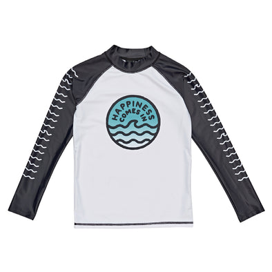 Waves Long Sleeve Rashie