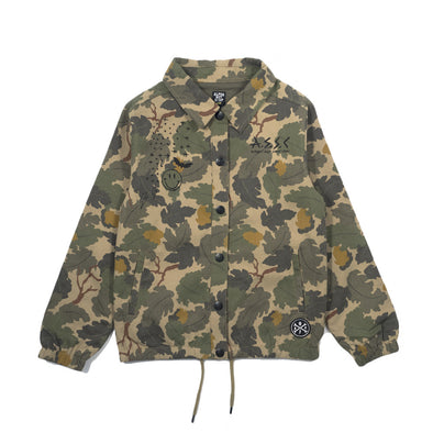 Camo Scribble Jacket - Alphabet Soup