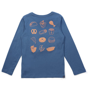 Takeaway Long Sleeve Tee - Alphabet Soup