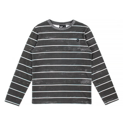 Sketch Stripe Long Sleeve Tee
