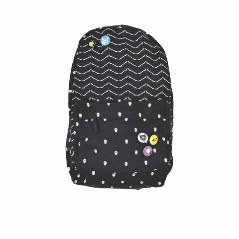 Skate Or Cry Backpack - Alphabet Soup