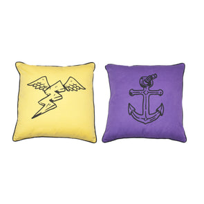 It's A Scream Throw Cushions - Alphabet Soup