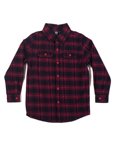 Shiver Me Timbers Flannel Shirt - Alphabet Soup Clothing