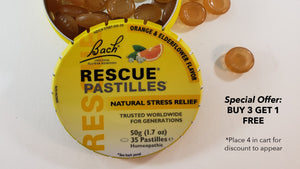 Rescue Remedy, Natural stress relief, special offer, holiday, Flower essences