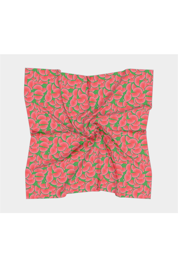 Watermelon Woman Square Scarf
