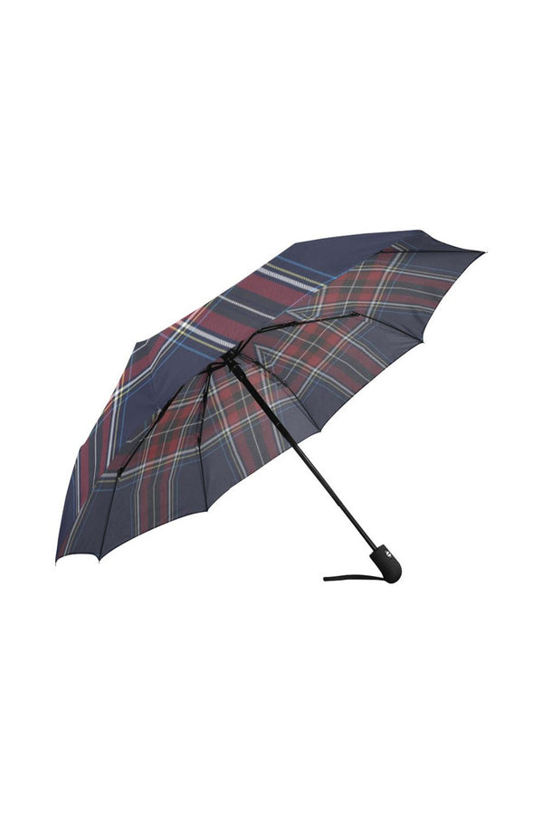 tartan Auto-Foldable Umbrella (Model U04)