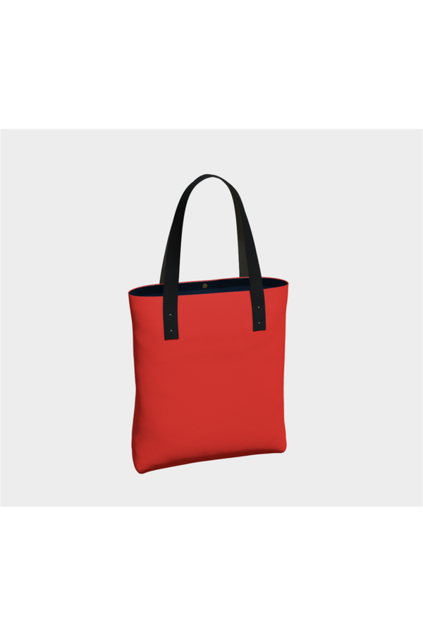 Lipstick Red Tote Bag