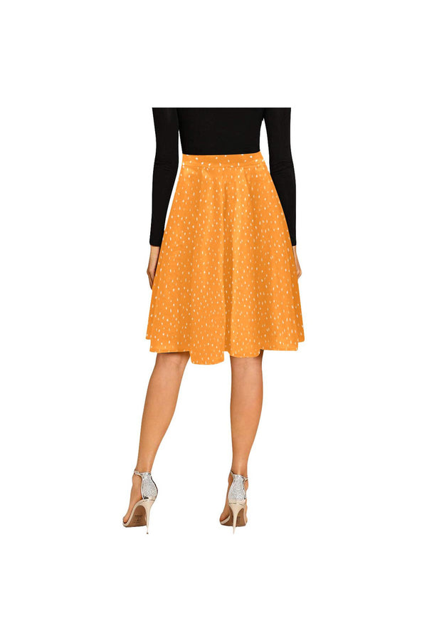 sunflower seed  Melete Pleated Midi Skirt