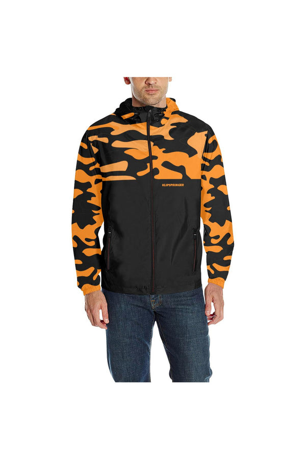 KLIPSPRINGER TURMERIC CAMOUFLAGE All Over Print Quilted Windbreaker