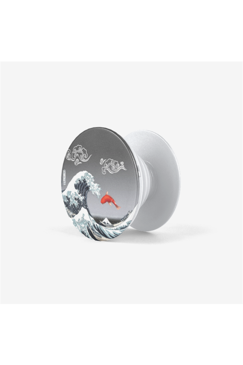 The Great Wave Off Kanagawa Collapsible Grip & Stand for Phones and Tablets