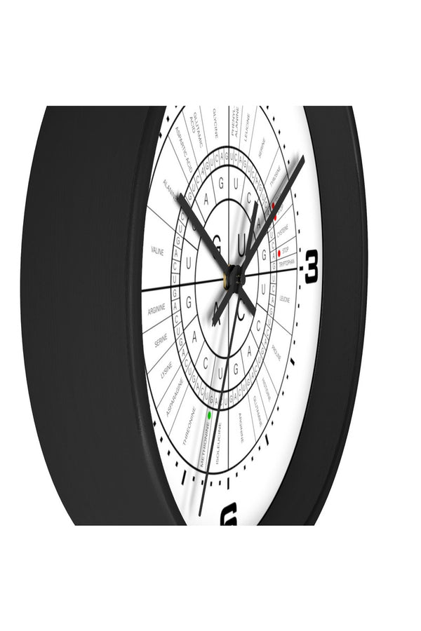 mRNA to AMINO ACID CODON WHEEL Wall clock - Objet D'Art Online Retail Store