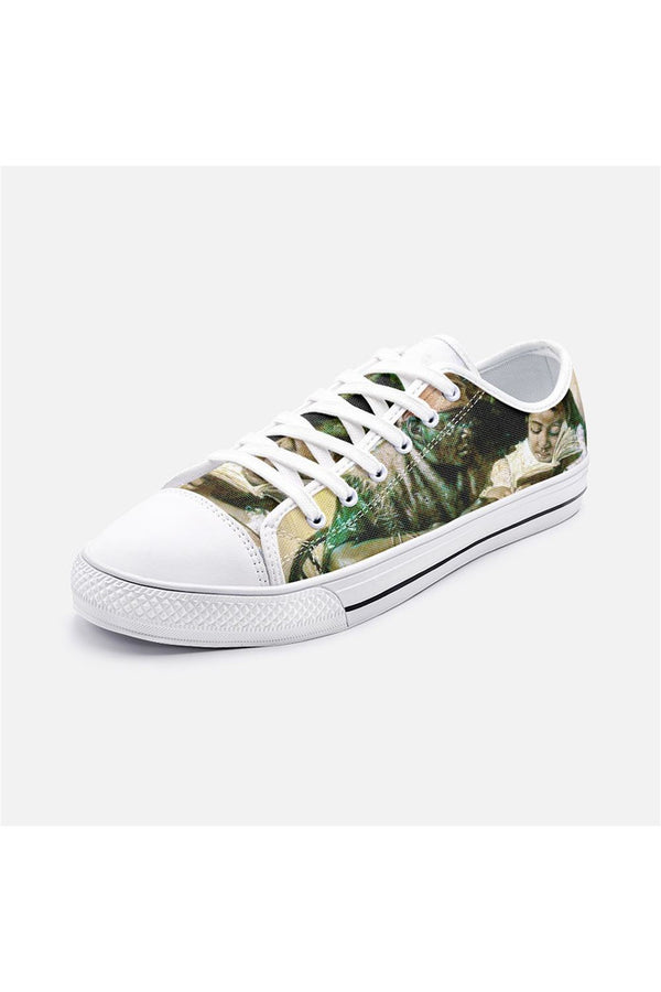 Harry Roseland's The Scholar Unisex Low Top Canvas Shoes