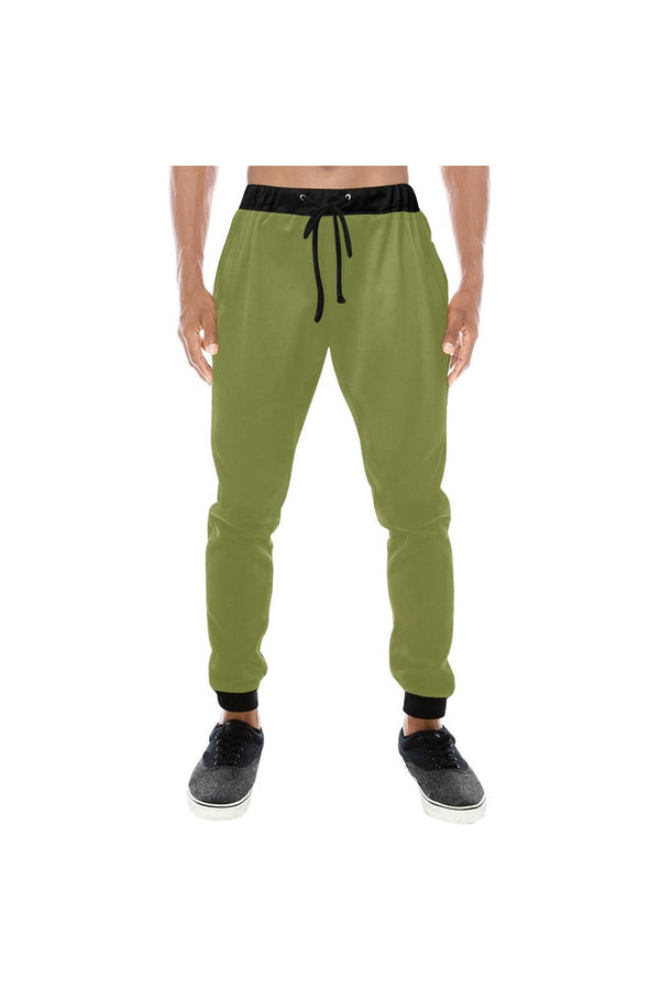 Pepper Stem Men's All Over Print Sweatpants (Model L11)