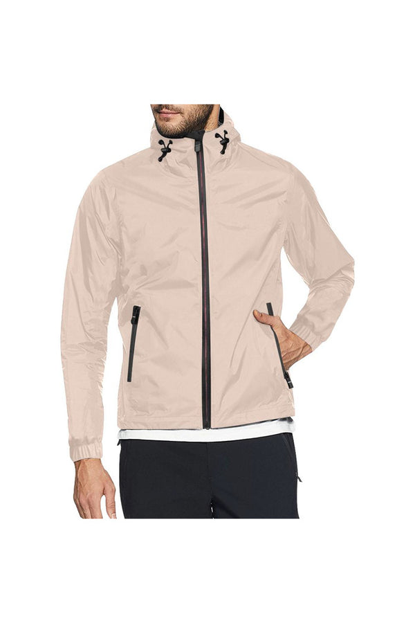 Crème de Pêche All Over Print Windbreaker for Men (Model H23)