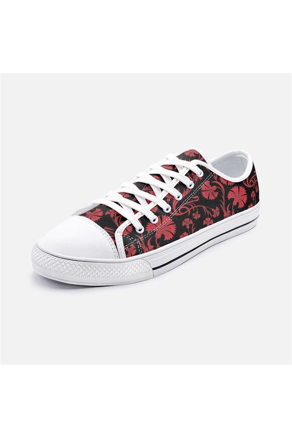 Petals Unisex Low Top Canvas Shoes