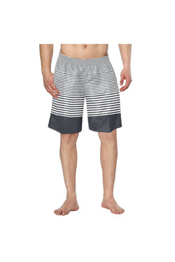 Linear Equation Men's Swim Trunk/Large Size - Objet D'Art Online Retail Store