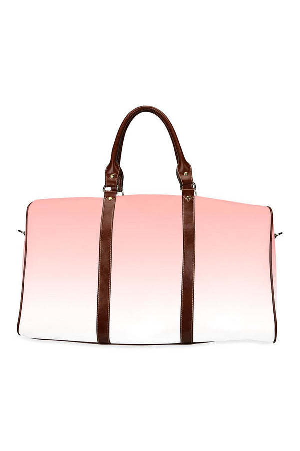 Peach Ombre/Gradient Waterproof Travel Bag/Small