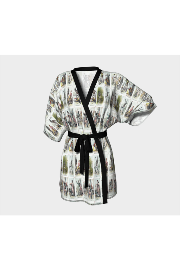 Quest For Freedom  Kimono Robe