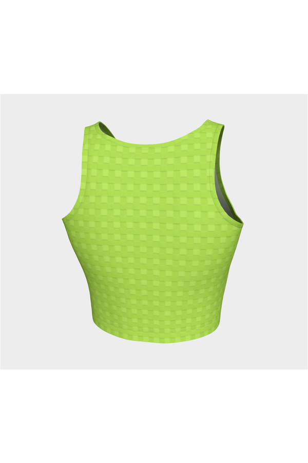 Lime Green Athletic Top