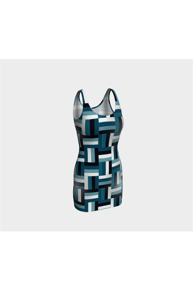 Basket weave Body-con Dress - Objet D'Art Online Retail Store