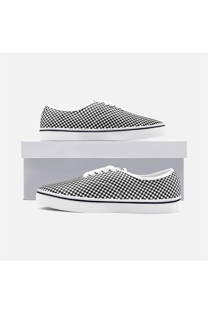 Circles Unisex Canvas Sneakers