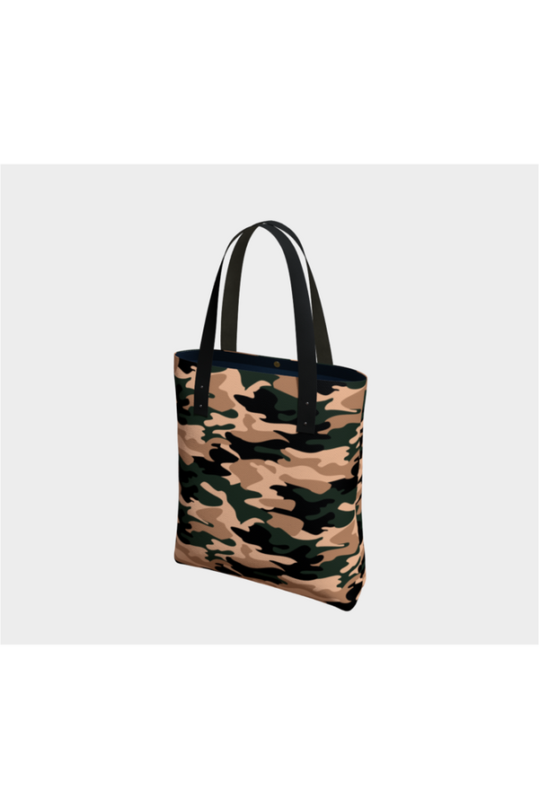 Metro Camouflage Tote Bag