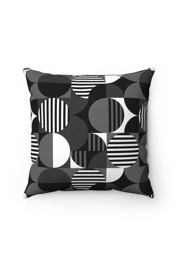 Bauhaus Spun Polyester Square Pillow