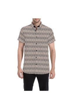 Prince Charming Men's All Over Print Short Sleeve Shirt